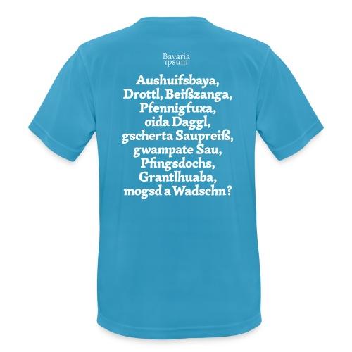 Grantl-Shirt #1 hellblau - Männer T-Shirt atmungsaktiv