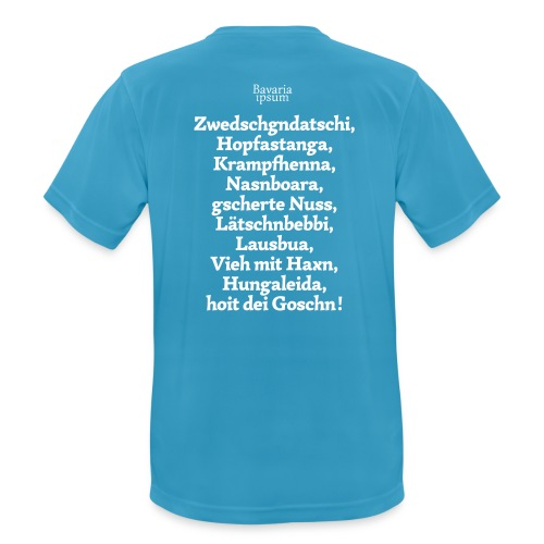 Grantl-Shirt #3 hellblau - Männer T-Shirt atmungsaktiv