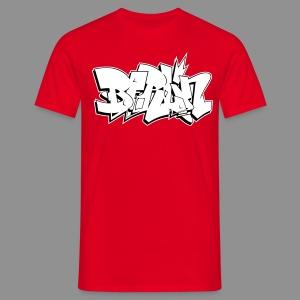 Berlin (Quer) - Männer T-Shirt