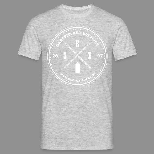 Sketch Books Logo (1 Farbig) - Männer T-Shirt