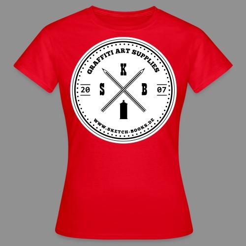 Sketch Books Logo (2 Farbig) - Frauen T-Shirt