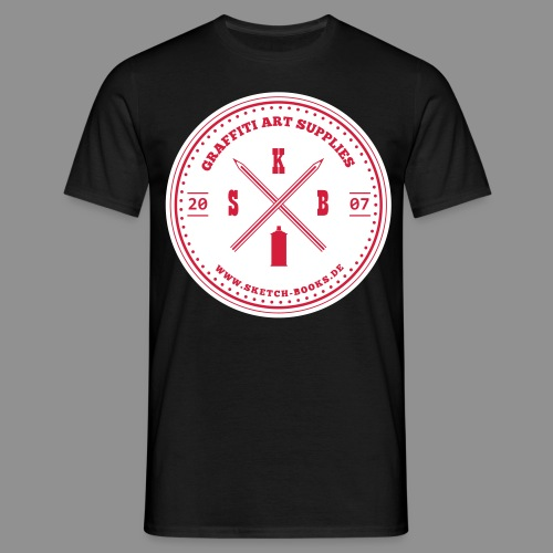 Sketch Books Logo (2 Farbig) - Männer T-Shirt