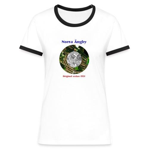 Damtröja Peringskiöld blå - Women's Ringer T-Shirt