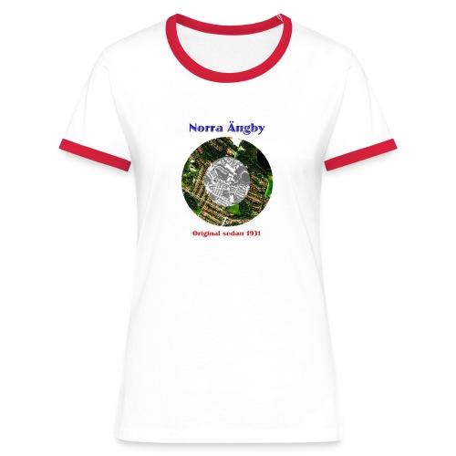 Damtröja Peringskiöld röd - Women's Ringer T-Shirt