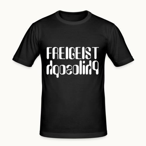Freigeist Philosoph - Männer Slim Fit T-Shirt