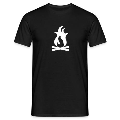 Lagerfeuer – Männer Shirt - Männer T-Shirt