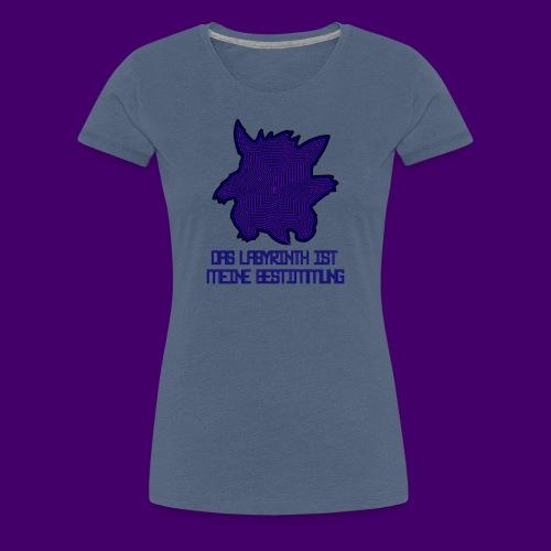 Das Labyrinth - Shirt (Frauen) - Frauen Premium T-Shirt
