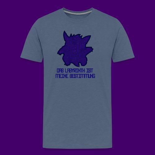 Das Labyrinth - Shirt (Männer) - Männer Premium T-Shirt