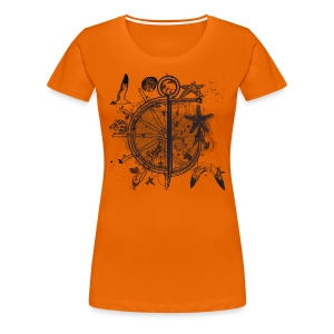 Sea - women - Frauen Premium T-Shirt