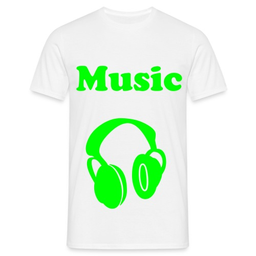 Music it's my life - T-shirt Homme