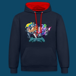 Star-Hoodie Deluxe - Sweat-shirt contraste