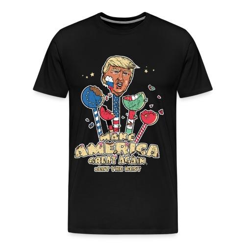 America first. bEat the Rest. - Männer Premium T-Shirt