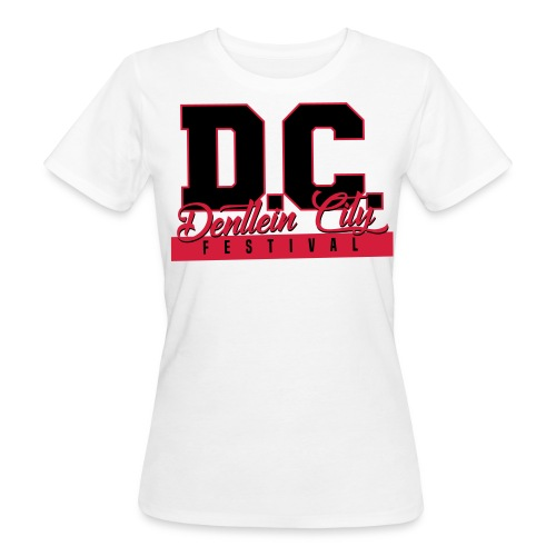 Women White/Red - Frauen Bio-T-Shirt