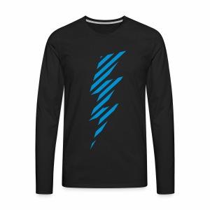 Comic Blitz - langarm Shirt - Männer Premium Langarmshirt