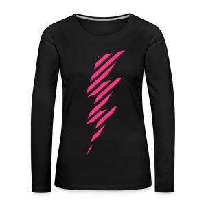 Comic Blitz - langarm Shirt - Frauen Premium Langarmshirt