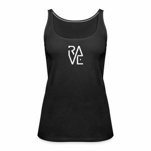 Rave Minimal Text - Frauen Premium Tank Top