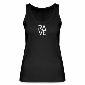 Rave Minimal Text - Frauen Bio Tank Top