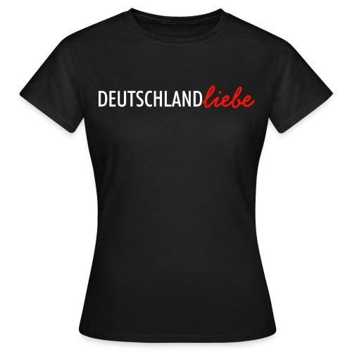 Deutschland Liebe Damen T-Shirt - Frauen T-Shirt