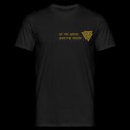 T-Shirts ~ Men's T-Shirt ~ Gold matt print