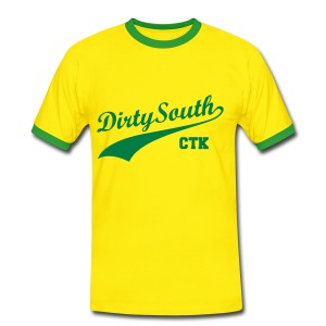 Dirty South - T-shirt contraste Homme