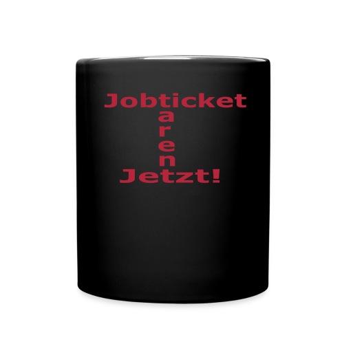 Jobticket Tasse - Tasse einfarbig