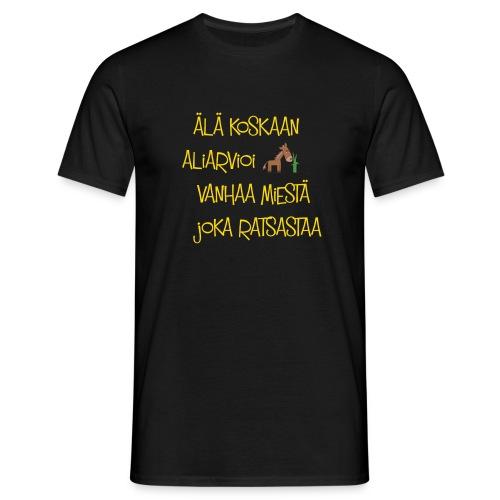 Aliarviomies - Miesten t-paita