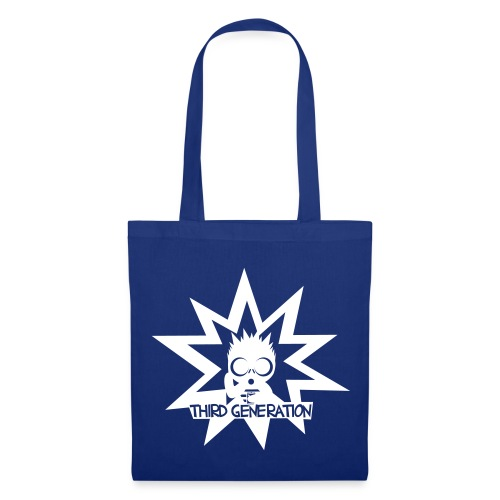 THIRD GENERATION blue - Tote Bag