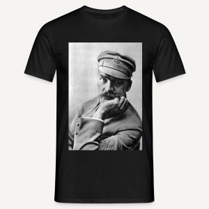 Piłsudski, zdjęcie - koszulka kolorowa - Koszulka męska