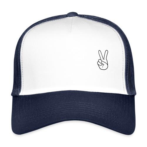 Trucker Cap - Small Peace Logo - Trucker Cap