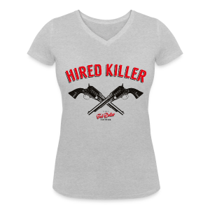 Hired Killer - T-shirt bio col V Stanley & Stella Femme