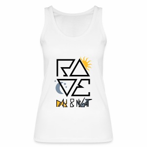 RAVE Day & Night V2 - Tanktop - Frauen Bio Tank Top von Stanley & Stella
