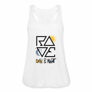 RAVE Day & Night V2 - Tanktop - Frauen Tank Top von Bella