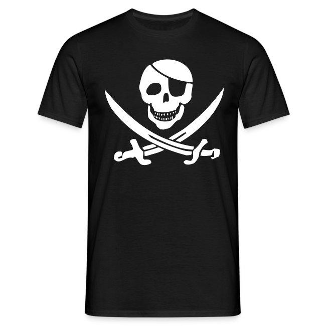 Piratenshirt mit grossem Druck
