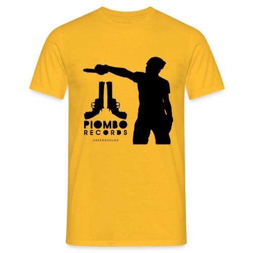 PIOMBO RECORDS - T-Shirt Uomo - Maglietta da uomo