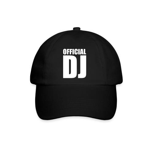 Gorra Unisex logo DJ - Gorra béisbol