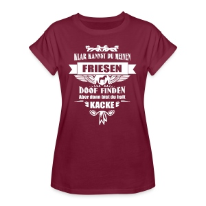 Friese - Shirt weit - Frauen Oversize T-Shirt
