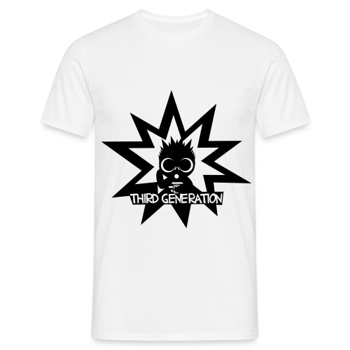 THIRD GENERATION white - Men's T-Shirt