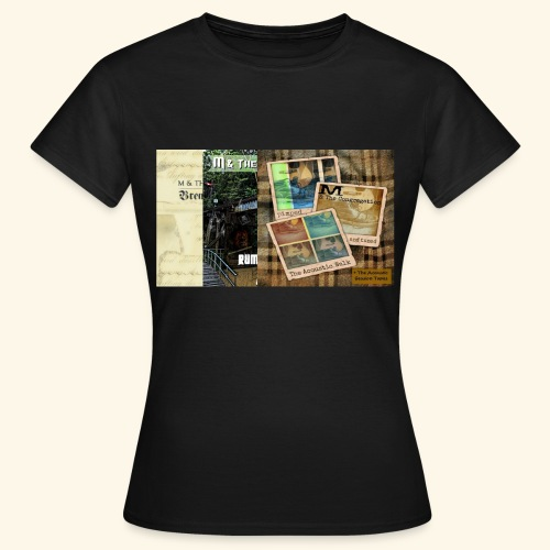 3 albums by M & The Congregation - Frauen T-Shirt
