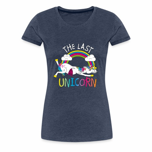 Damen Shirt - Last Unicorn - Frauen Premium T-Shirt