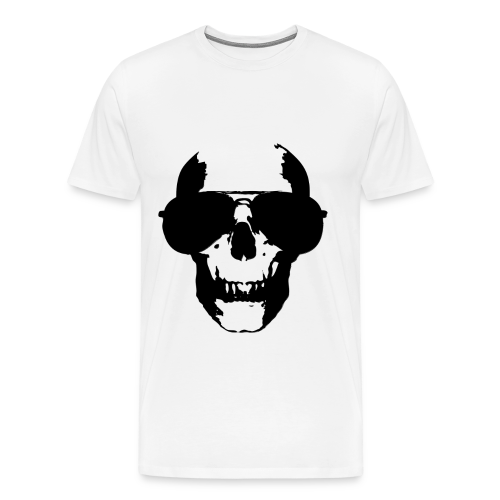SKULL GLASSES - black T-Shirts - Männer Premium T-Shirt