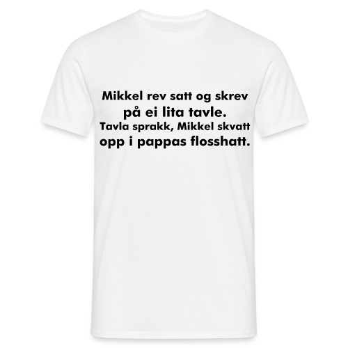 Mikkel rev - T-skjorte for menn