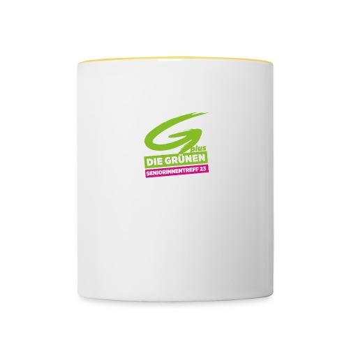 Tasse Grüner SeniorInnenklub, zweifarbig - Tasse zweifarbig