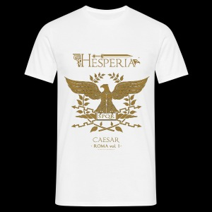 HESPERIA Caesar (Roman Eagle 1st version)- Shirt white - Men's T-Shirt
