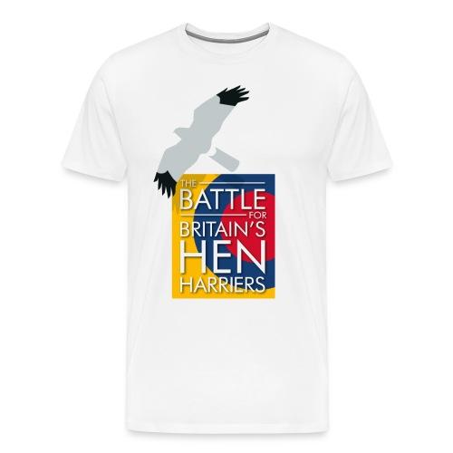 New for 2017 - Men's The Battle For Britain's Hen Harriers T-shirt - Men's Premium T-Shirt