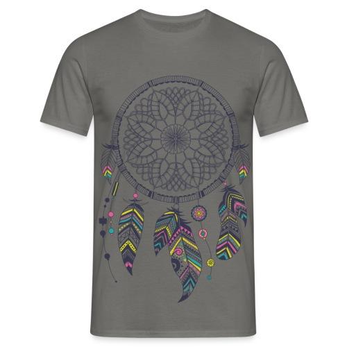 T-Shirt Traumfänger, Dreamcatcher - Männer T-Shirt