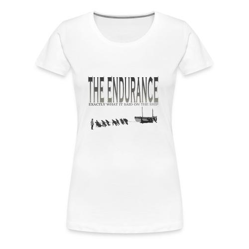 The Endurance - Women's Premium T-Shirt