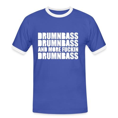 Männer Kontrast-T-Shirt - Die Farbe des Shirts ist bei der Bestellung veränderbar!