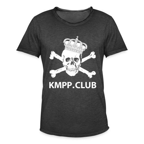 Skull & Bones Vintage T-Shirt - Miesten vintage t-paita