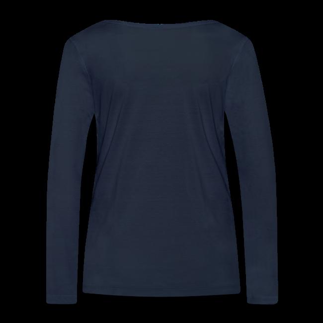 BMBRG Bamberg Auge - Damen BIO Langarmshirt - 100% Baumwolle - #BAMBERG-SHIRT