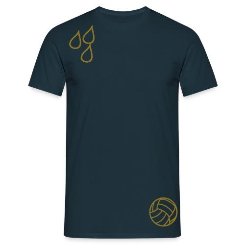 Gold-T-Shirt - Männer T-Shirt